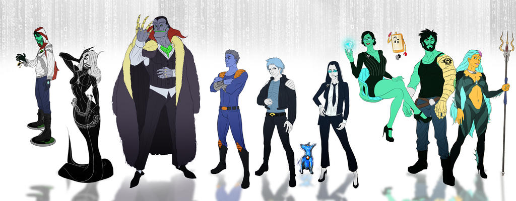 Shapeshifter Character Design : Reboot favourites by raptorix on deviantart