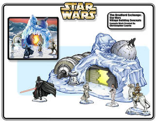 Star Wars village hoth base