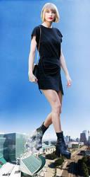Giantess Taylor Swift by eheh78