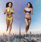 More double giantess in Dubai