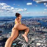 giantess Teanna Trump  in NY