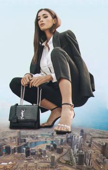 Jori Delli giantess in Dubai