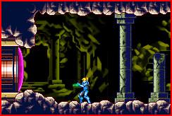 Blue power suit - screengrab by Purple-Plasmid