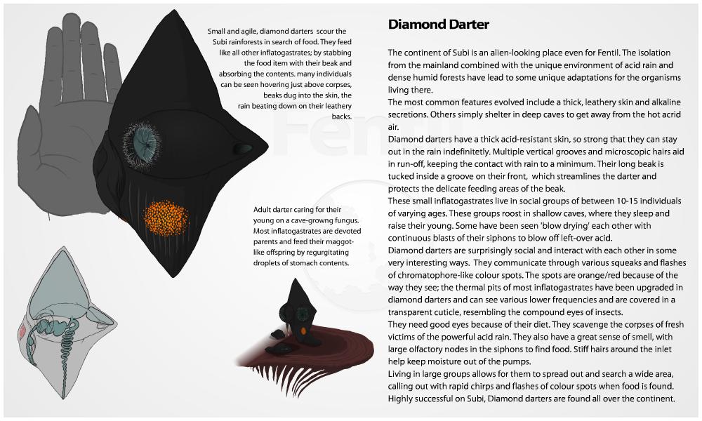 Diamond Darter by Demmmmy