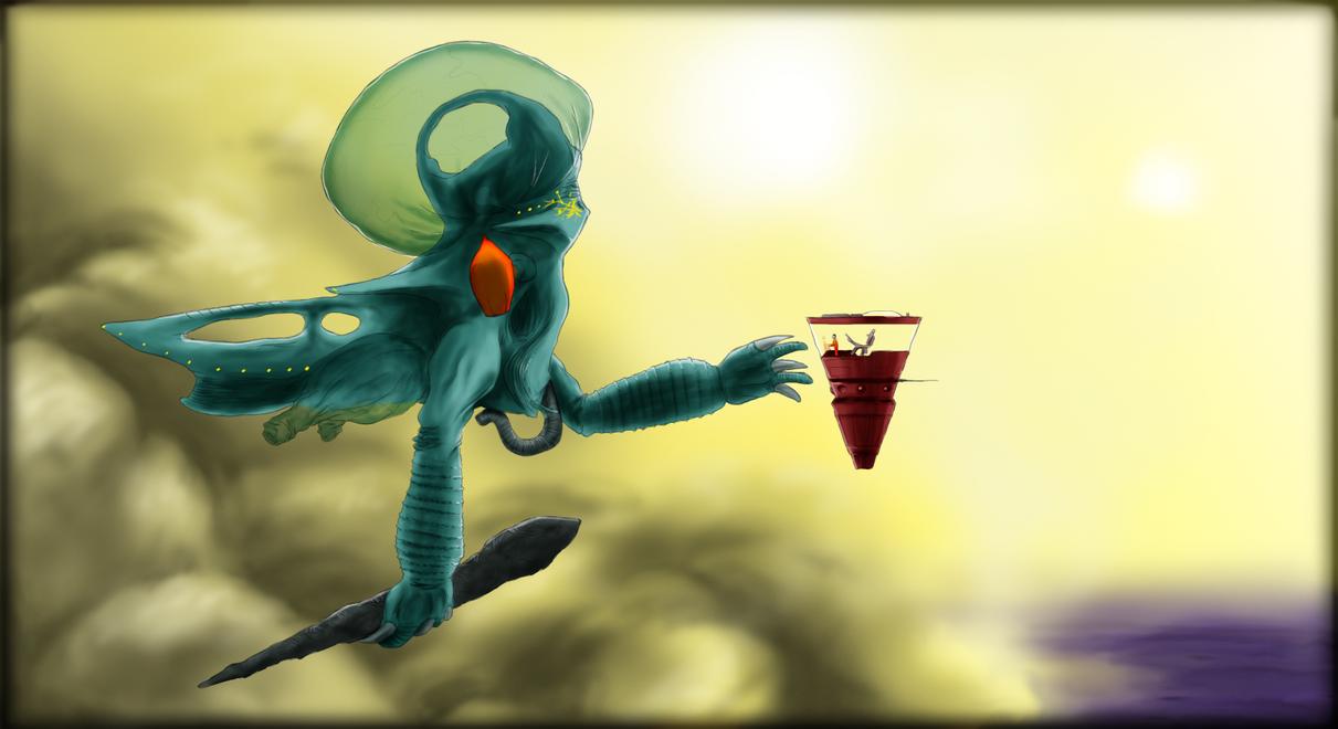 Alien Planet Gyrosprinter