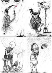 Four Portraits Of Dark Men