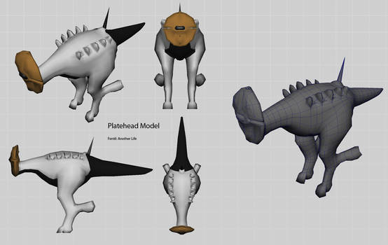 Platehead - WIP - orthographic