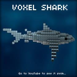 Voxel Shark