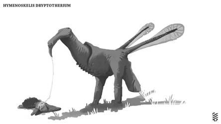Hymenoskelis Dryptotherium by Demmmmy