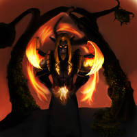 Fandral in Flames by Atmadog