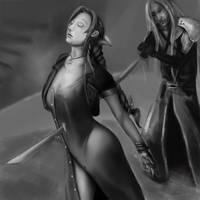 Aeris Dies...unfinished by Atmadog