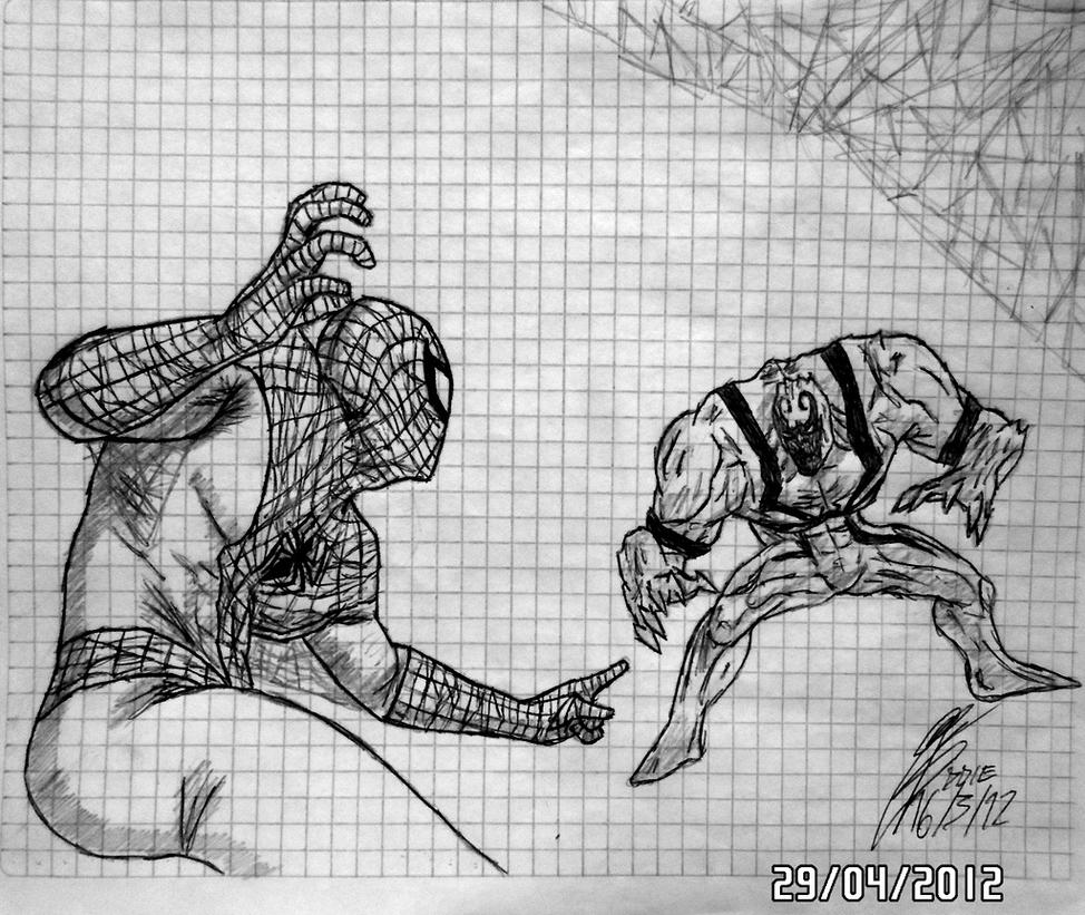 Spider-Man VS Anti-Venom by Eddie-Lozano on DeviantArt