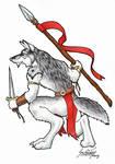 Wolf Warrior - Inks
