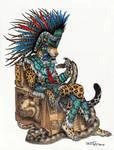Tepeyollotl - Aztec Jaguar God
