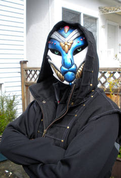 Alien Assassin Mask - 2nd View