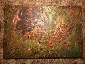 Jared - Copper Koi Painting 2015