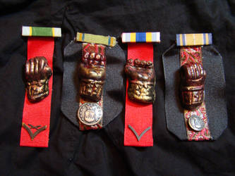 Order of the Bloody Gloves by MBlameworthy