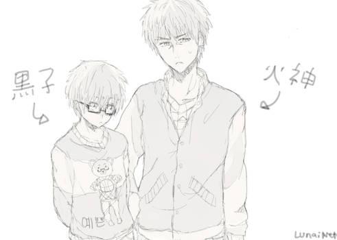 Kuroko no basket sketch