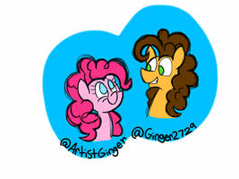 Pinkie pie and cheese sandwich by ArtistGinger
