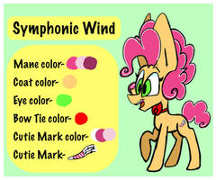 Symphonic Wind reference sheet by ArtistGinger