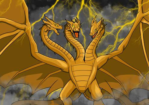 Legendary King Ghidorah