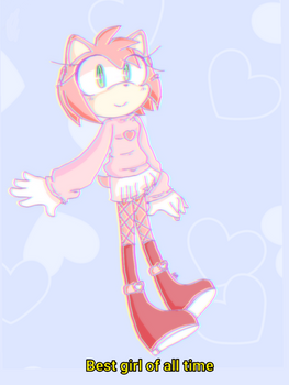 Amy rose is best girl