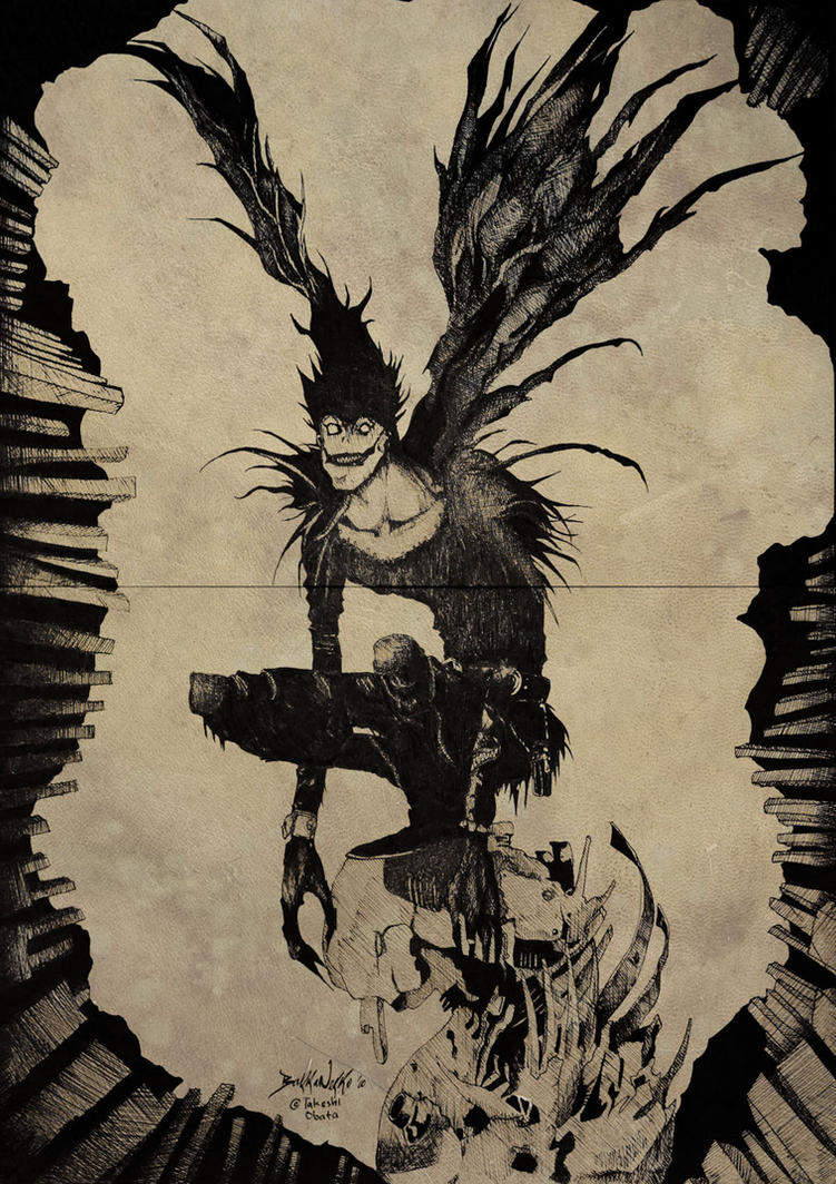 Ryuk The Shinigami by QuantumEldrAg on DeviantArt