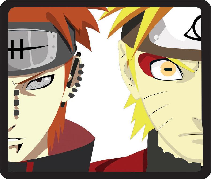 Pain Naruto Wallpaper: Pain Vs Naruto By Joesimple On DeviantArt