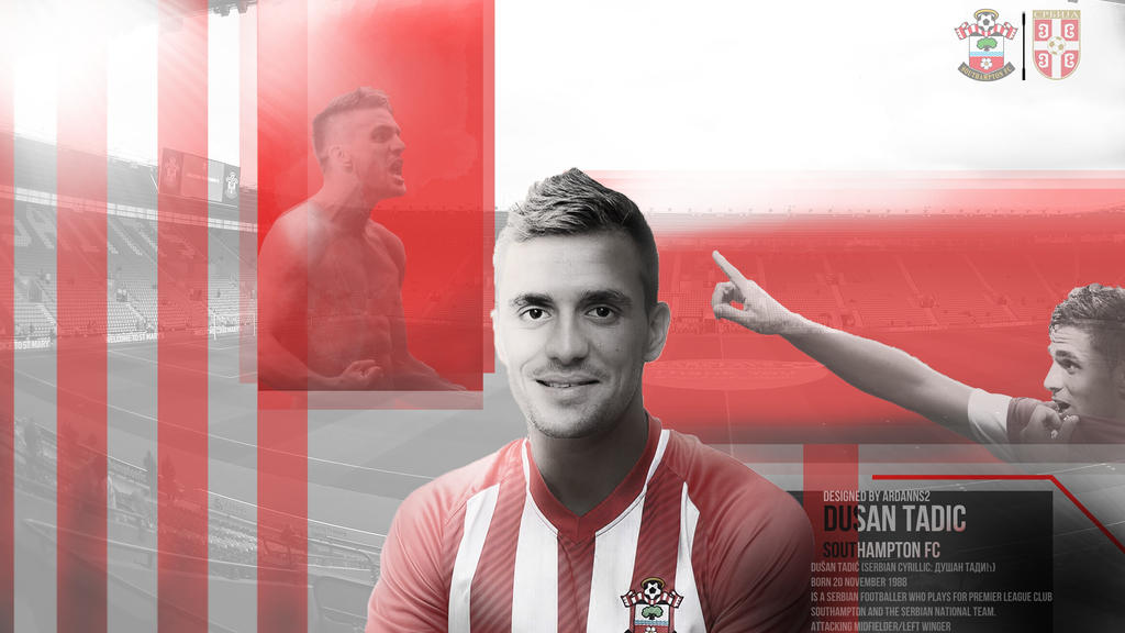 Dusan Tadic Wallpaper: 5. Dusan Tadic By ArdannS2 On DeviantArt