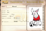 Blizzard's OPHS Application by XfangheartX