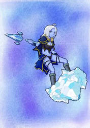 HoN - Female Glacius