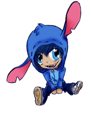 Human Chibi Stitch By Marlienicole On Deviantart