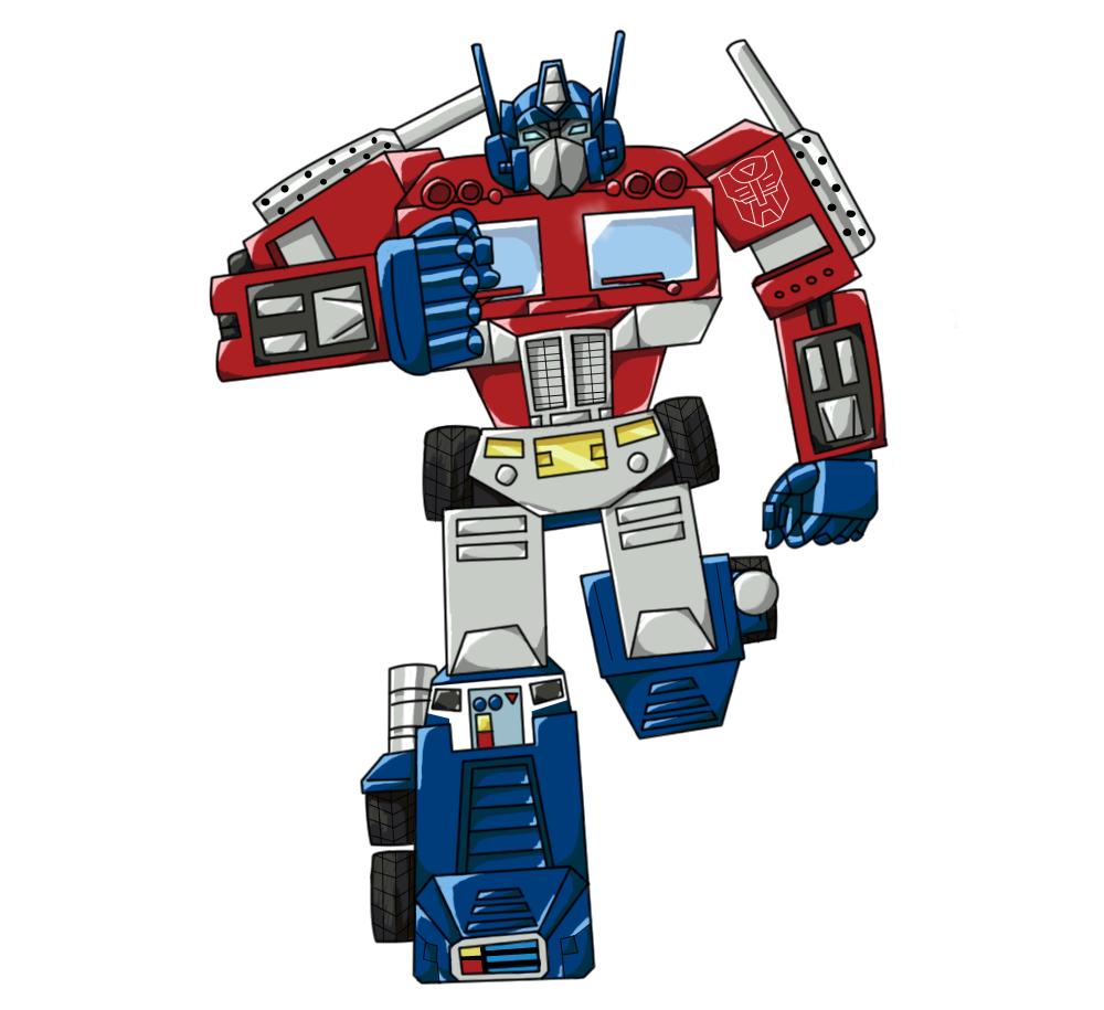 A Friend Drew G1 Optimus Prime, Please Comment.