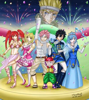 Fantasia - Thank you Mashima-sensei! by MonoGhost
