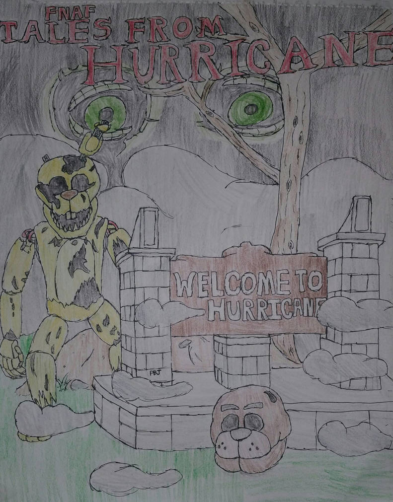 Five Nights At Freddy S Tales From Hurricane By Princeboojr On Deviantart