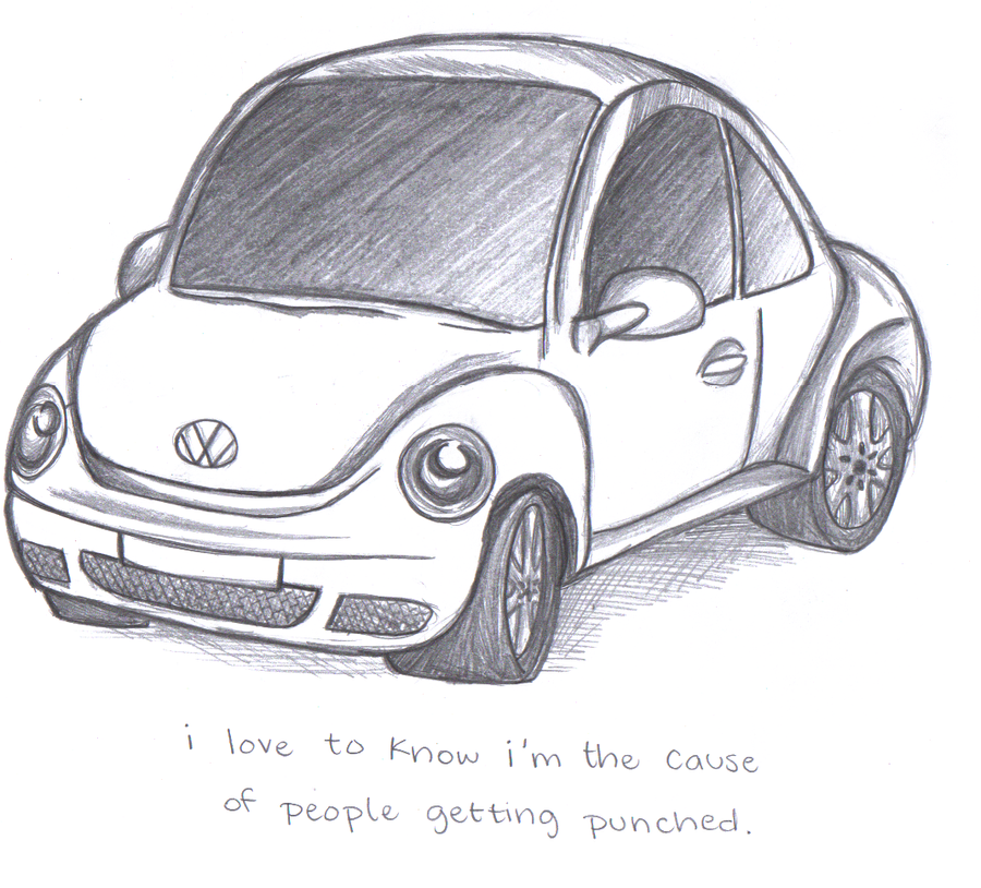Punch Buggy Car >> Beetle Punch Buggy Cars How To Draw Step By Drawing Pictures