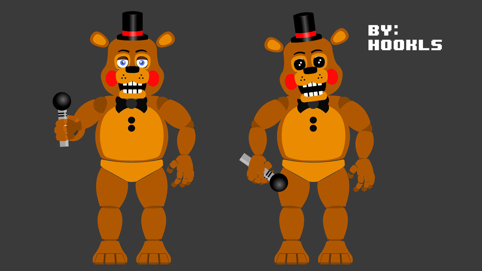 Old Freddy Toys : Toy freddy by hookls on deviantart