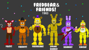 Fredbear and Friends! Poster