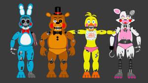 Withered toy animatronics