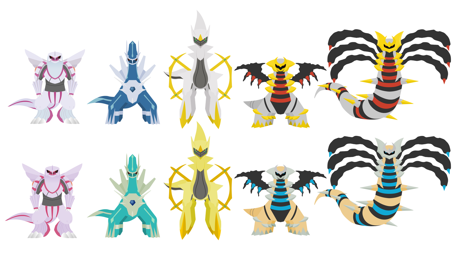 dialga palkia giratina arceus - photo #26