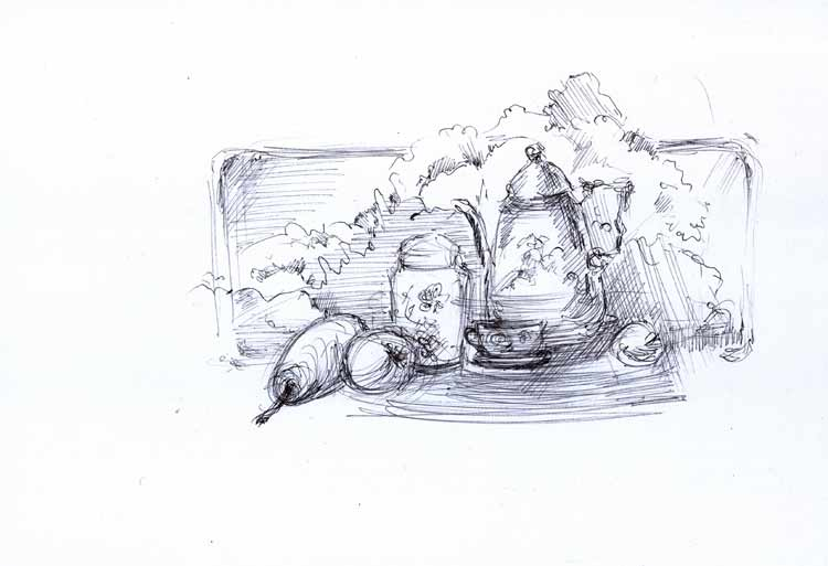 Far-east-sketch-01 by Joinerra