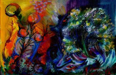 Alienated-landscape-oilpalette-series by Joinerra