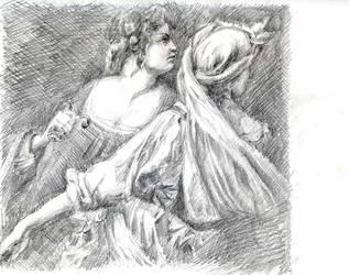 Gentileschi-judith-copy by Joinerra