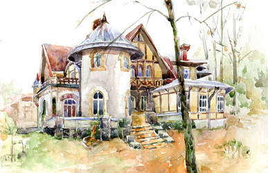Gauswald-mansion by Joinerra