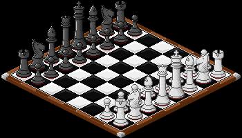 Pixel Chess Board