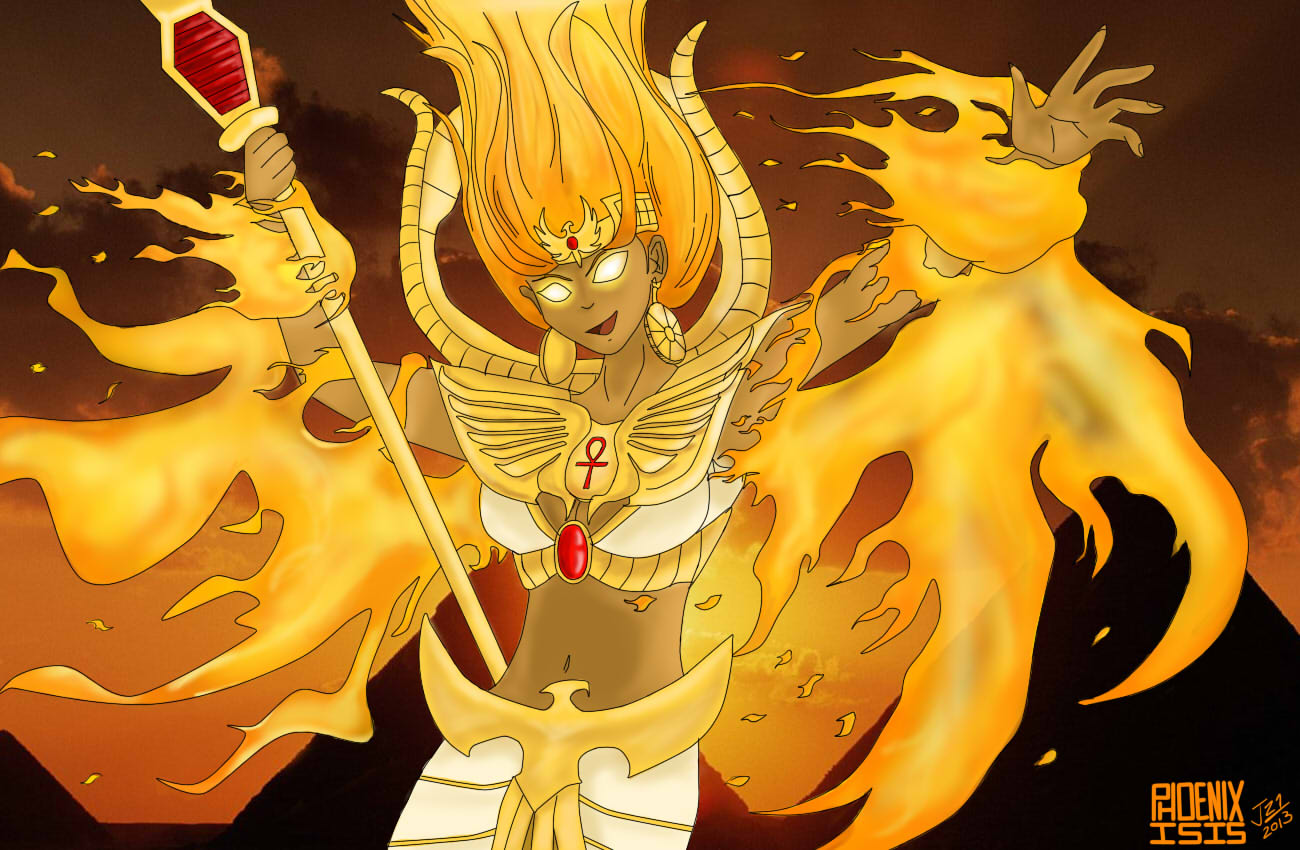 Phoenix Isis - The Goddess Resurrected! by Joahnaut