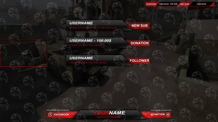 Streamity.gg - Overlay (Package) - #002