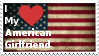 American Girlfriend Stamp by TheDarkWingGuardian