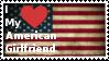 American Girlfriend Stamp by TheDarkWingGuardian
