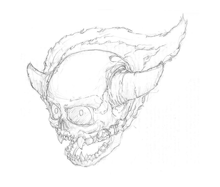 Lost Soul Doom Deviantart: DooM: Lost Soul By Nainteins On DeviantArt